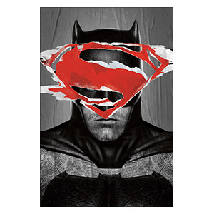 Batman v Superman: Dawn of Justice. Размер: 40 х 60 см